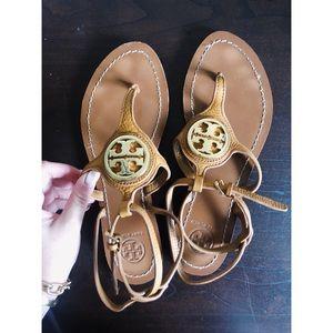 Tory Burch Leticia Logo Thong Sandal